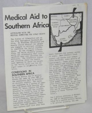 Medical Aid to Southern Africa