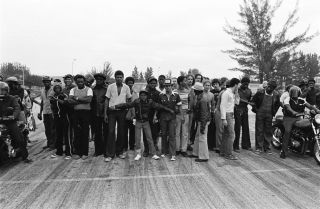 We are everywhere and we shall be free. Charles Hashim's Miami 1977 - 1983
