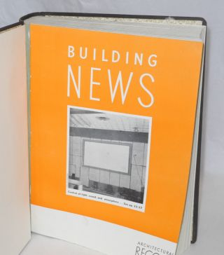 Architectural Record, Combined with American Architect and Architecture, [comprised of] Building News/Building Types (January through December)