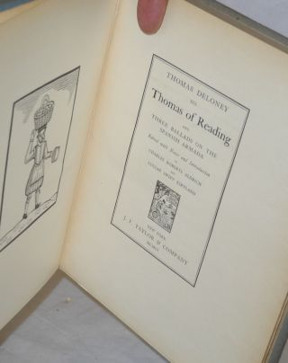 Thomas Deloney, His Thomas of Reading; and Three Ballads on the Spanish Armada, Edited with Notes and Introduction by Charles Roberts Aldrich and Lucian Swift Kirtland