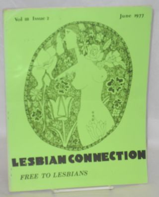Lesbian Connection: vol. 3, #2, June 1977