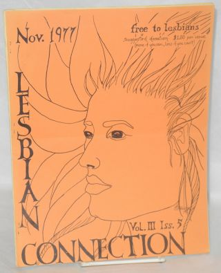Lesbian Connection: vol. 3, #5, November 1977