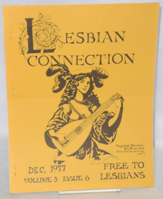 Lesbian Connection: vol. 3, #6, December 1977