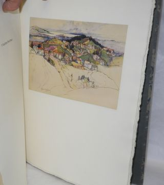 Old California, Being Ten Reproductions of Original Watercolors Painted by Rowena Meeks Abdy, with a Foreword by Gottardo Piazzoni, an Introduction & Descriptive Text by H. Bennett Abdy, F.Am.G.S.