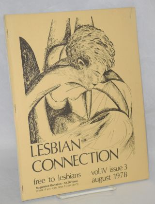 Lesbian Connection: vol. 4, #3, August 1978