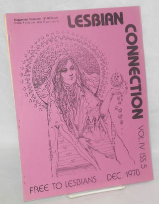 Lesbian Connection: vol. 4, #5, December 1978