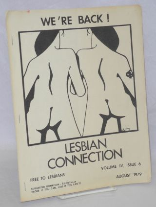Lesbian Connection: vol. 4, #6, August 1979