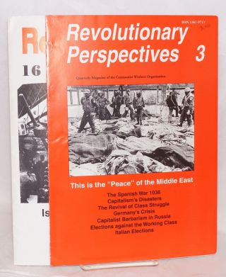 Revolutionary perspectives: journal of the Communist Workers' Organisation [two issues