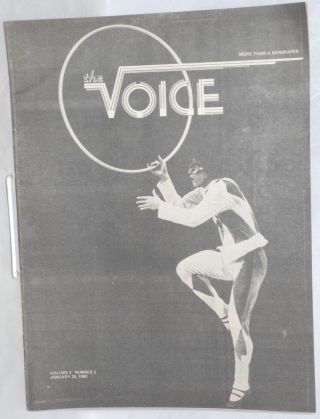 The Voice: more than a newspaper; vol. 2, #2, January 25, 1980. Paul D. Hardman, Senator Milton...