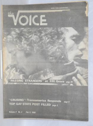 The Voice: more than a newspaper; vol. 2, #3, February 9, 1980. Paul D. Hardman, Senator Milton...