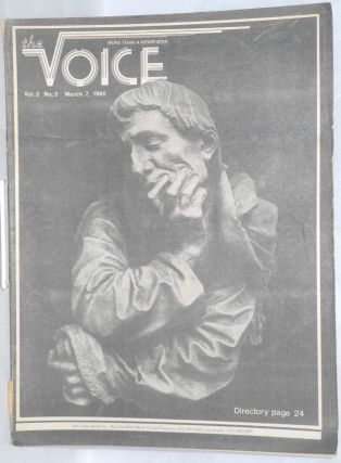 The Voice: more than a newspaper; vol. 2, #5, March 7, 1980. Paul D. Hardman, Senator Milton...