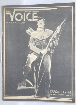 The Voice: more than a newspaper; vol. 2, #6, March 21, 1980. Paul D. Hardman, Senator Milton...
