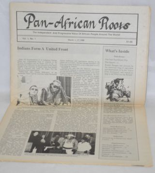 Pan-African Roots. Vol. 1 no. 1 (March 1-17, 1988