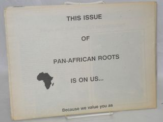 Pan-African Roots. Vol. 1 no. 1 (March 1-17, 1988)