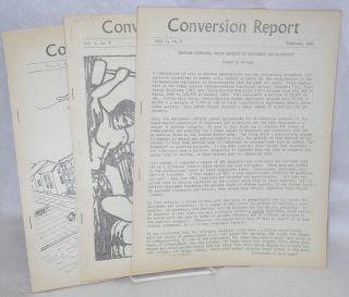 Conversion report Vol. 1, Nos. 7, 8 & 9