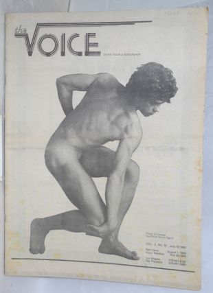 The voice: more than a newspaper; vol. 2, #15, July 18, 1980. Paul D. Hardman, Milton Marks Jesse...