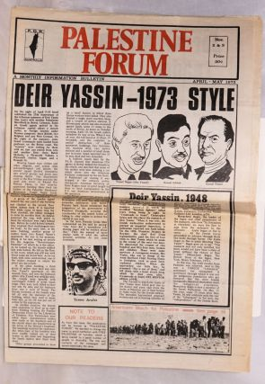Palestine Forum. No. 2/3 (April-May 1973