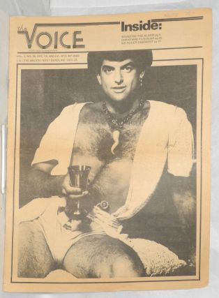 The Voice: more than a newspaper; vol. 2, #26, Dec. 18, 1980. Paul D. Hardman, Quentin Kopp...