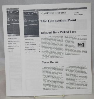 The Connection Point: Castro edition; vol. 1, nos. 1 & 2; 8/11 & 8/25/2005