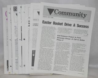 Community: newsletter of the Capital District Lesbian and Gay Community Center; 8 issue broken...