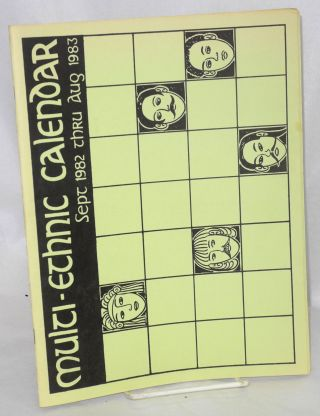 Multi-ethnic calendar. Sept. 1982 thru Aug. 1983. Oakland Unified School District