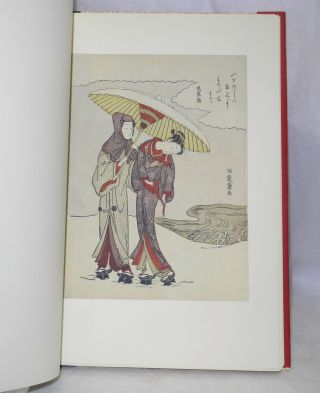 """Ukiyo-e """"The Floating World"""" Illustrated by twenty-eight rare examples of Japanese woodblock prints by seventeen great masters of the art."""