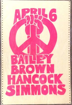 April 6 / Bailey Brown Hancock Simmons [poster