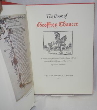 The book of Geoffrey Chaucer: an account of the publication of Geoffrey Chaucer's works from the Fifteenth Century to modern times