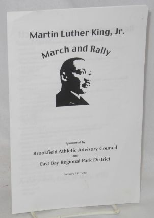 Martin Luther King, Jr. March & Rally sponsored by Brookfield Athletic Advisory Council and East...