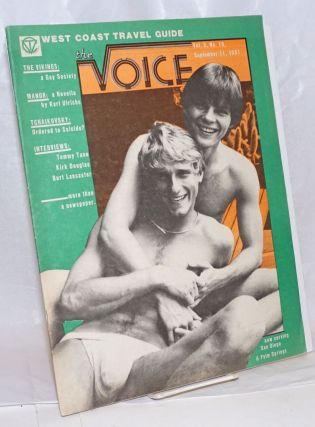 The voice: more than a newspaper; vol. 3, #19, September 11, 1981. Paul D. Hardman, , Quentin Kopp, E. Lee Clifton, Senator Milton Marks.