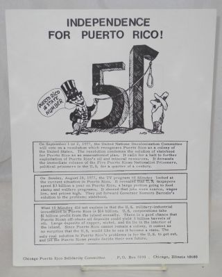 Independence for Puerto Rico! [handbill]