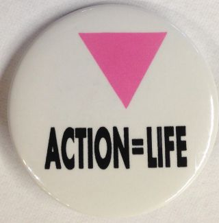 Action = Life [pinback button]