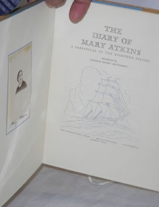 The Diary of Mary Atkins: a sabbatical in the eighteen sixties