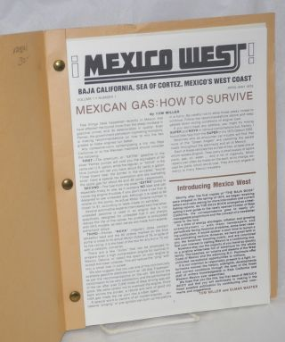 ¡Mexico West! Baja California, Sea of Cortez and Mexico's West Coast; vol. 1, nos 1 & 2, April-May & June-July 1975