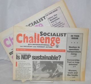 Socialist Challenge: 4th International for socialist and feminist action (two issues