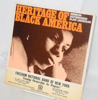 Heritage of Black America honoring distinguished Black Americans [1983 calendar