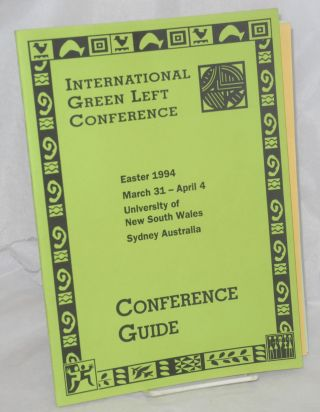 International Green Left Conference... Conference guide