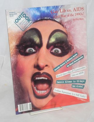 Out/look: national lesbian & gay quarterly vol. 2, #4 whole #8, Spring 1990. Debra Chasnoff,...