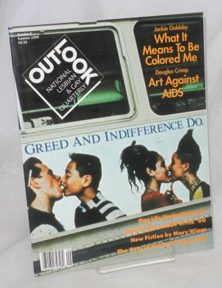 Out/look: national lesbian & gay quarterly vol. 3, #1 whole #9, Summer 1990. Debra Chasnoff,...