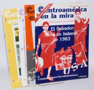 Centroamérica en la mira [four issues