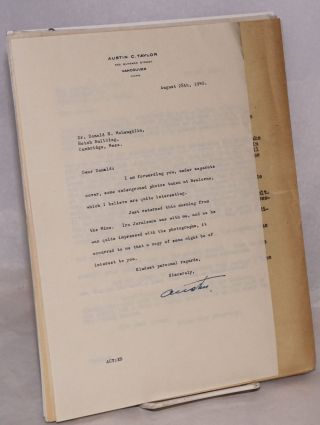 [Correspondence related to gold mines, mainly in British Columbia]