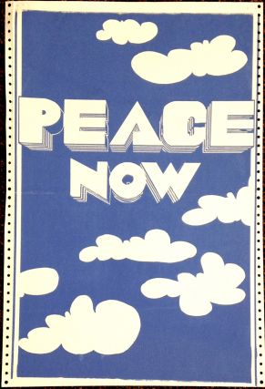 Peace Now [poster]