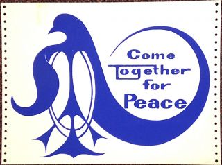 Come together for Peace [poster]