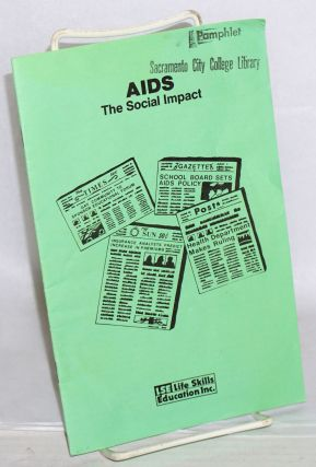 AIDS: the Social impact [pamphlet]