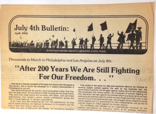 July 4th Bulletin: April, 1976. July 4th Coalition.
