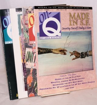 On-Q magazine: [4 issue broke run] vol. 1, #1,2, 3 & 5, April 19 - June 28, 1995