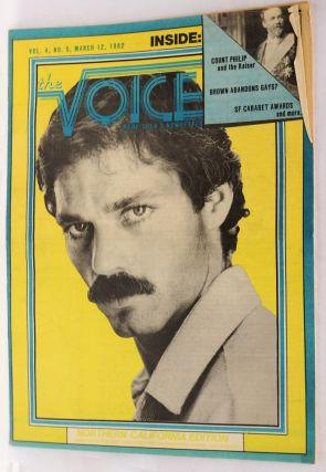 The Voice: more than a newspaper; vol. 4, #5, March 12, 1982 Northern California Edition. Paul D....