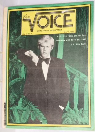The Voice: more than a newspaper; vol. 4, #8, May 7, 1982. Paul D. Hardman, Senator Milton Marks...