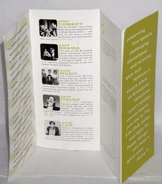 Change the Face of Television [brochure] In the Life Club