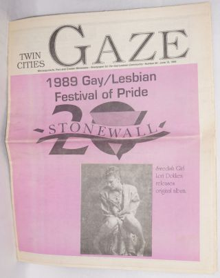 Twin Cities Gaze: the news bi-weekly for the Twin Cities Gay/Lesbian Community #89, June 15,...